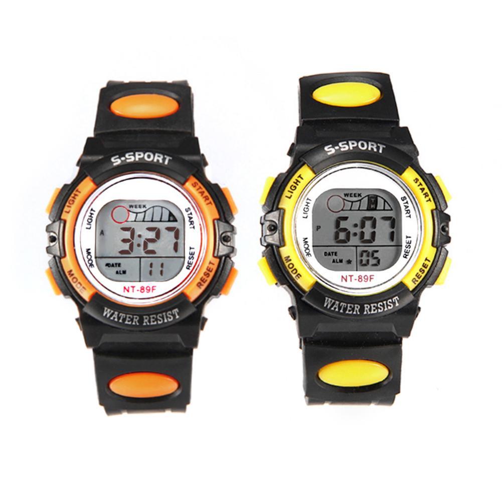 Multi-functional Kids Children Waterproof Clock Luminous LED Digital Date Alarm Wrist Watch Sport Digital Watches Reloj Hombre 2