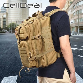 1 Pcs Large Capacity Men Army Military Assault  3P Outdoor Durable Oxford Bag Camping Hunting Hiking Backpack Unisex 5 Styles 2