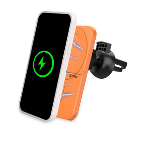 Image 2 - Fast 15w Magnetic Car Wireless Charger Qi Charging Mount Air Vent Phone Stand For Iphone 12 ProMax 12Mini Magnetic Car Holder