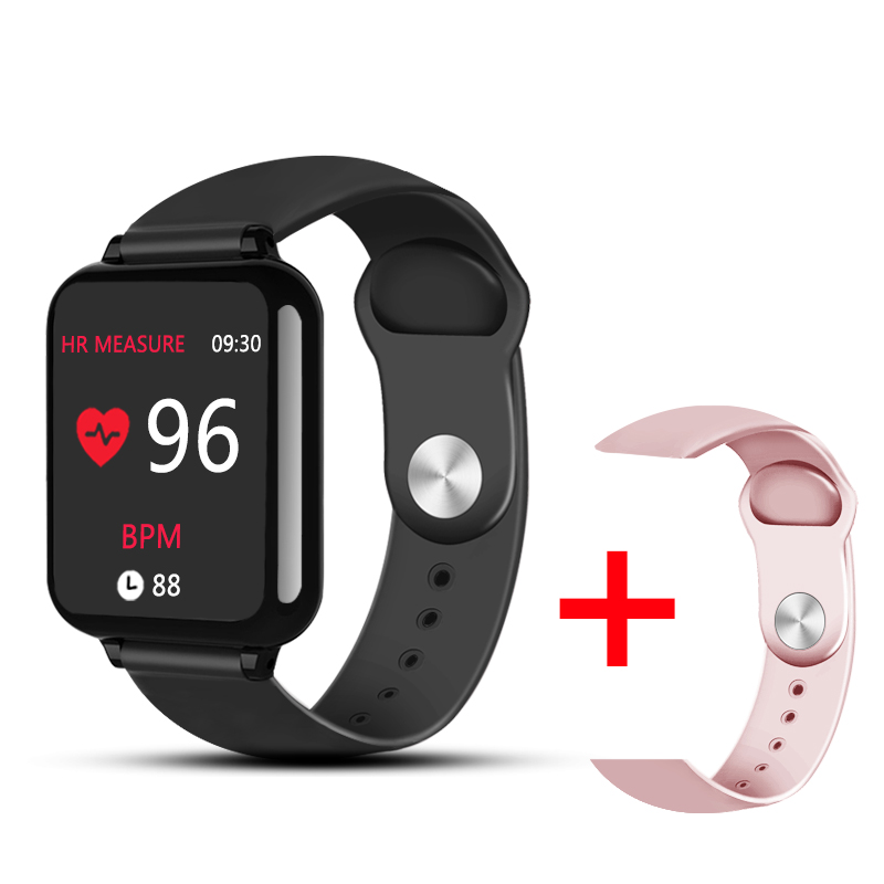 B57 Smart watches Waterproof Sports for iphone phone Smartwatch Heart Rate Monitor Blood Pressure Functions For Women men kid 5