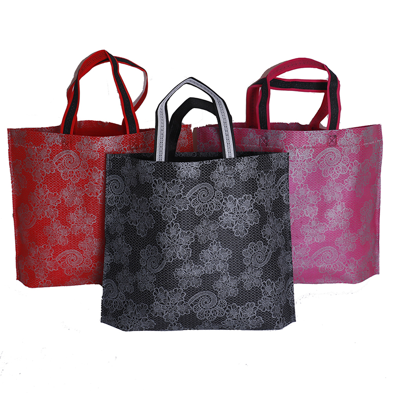 New Women Lady Foldable Shopping Bag Waterproof Thick Handbag Casual Portable Large Capacity Zip Nylon Tote Free Shipping