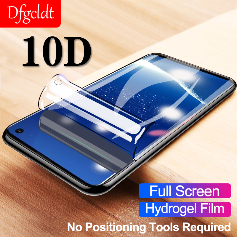 10D Full <font><b>Cover</b></font> Hydrogel Film for <font><b>Samsung</b></font> S10e <font><b>S10</b></font> S9 S8 Plus S7 Edge <font><b>Screen</b></font> Protector for Galaxy Note8 9 J8 J6 2018 Soft Film image