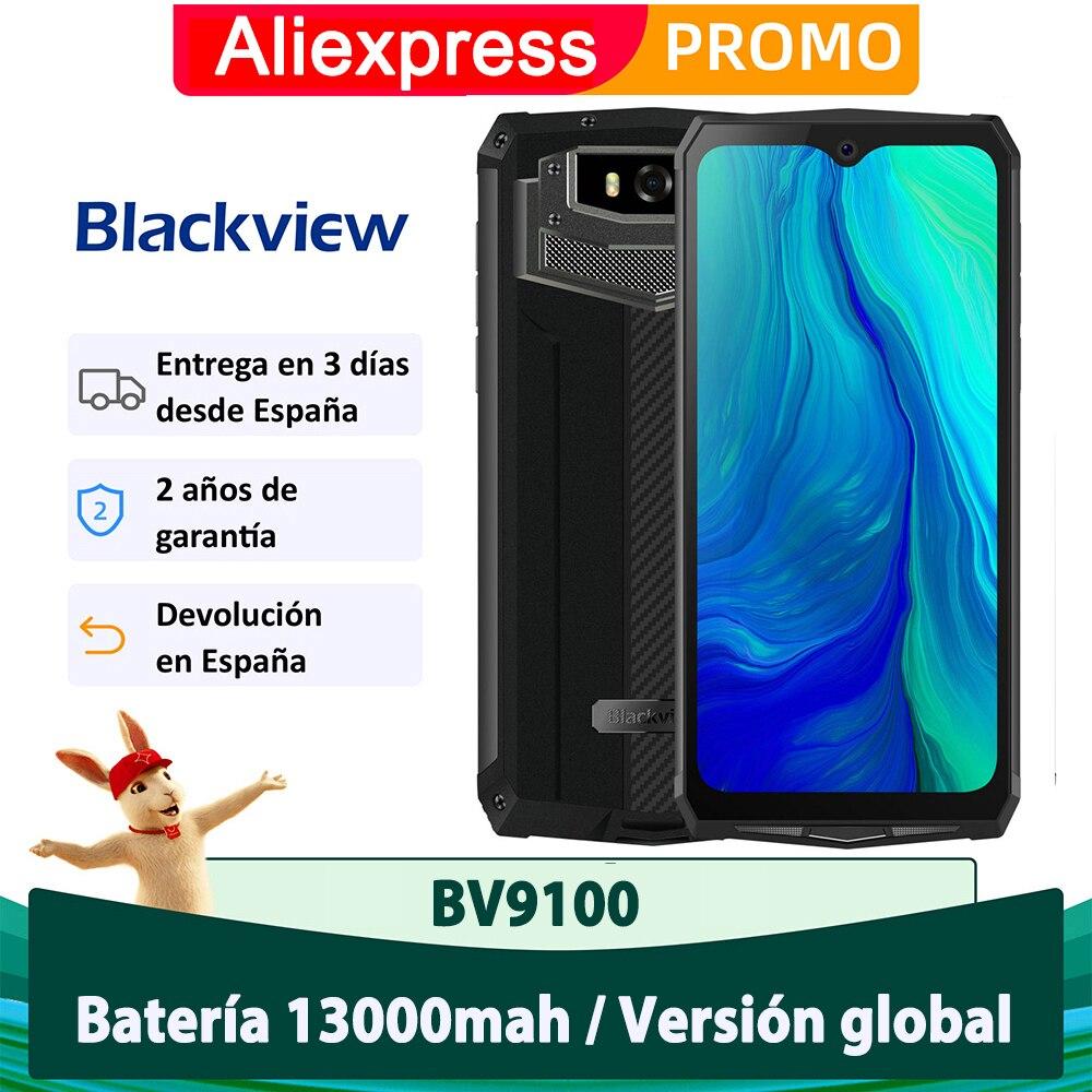 Blackview BV9100 IP68 a prueba de agua 4 GB 64 GB Teléfono móvil Batería de 13000 mAH Teléfono móvil Cámara de 16.0MP Smartphone