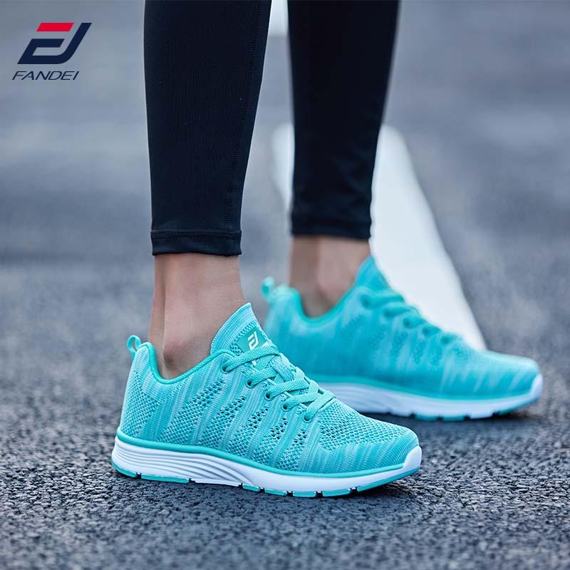 FANDEI Summer Running Shoes Women Sneakers Women Men Outdoor Sport Shoes Woman Chaussures Femme Fapatillas Mujer Deportiva PE