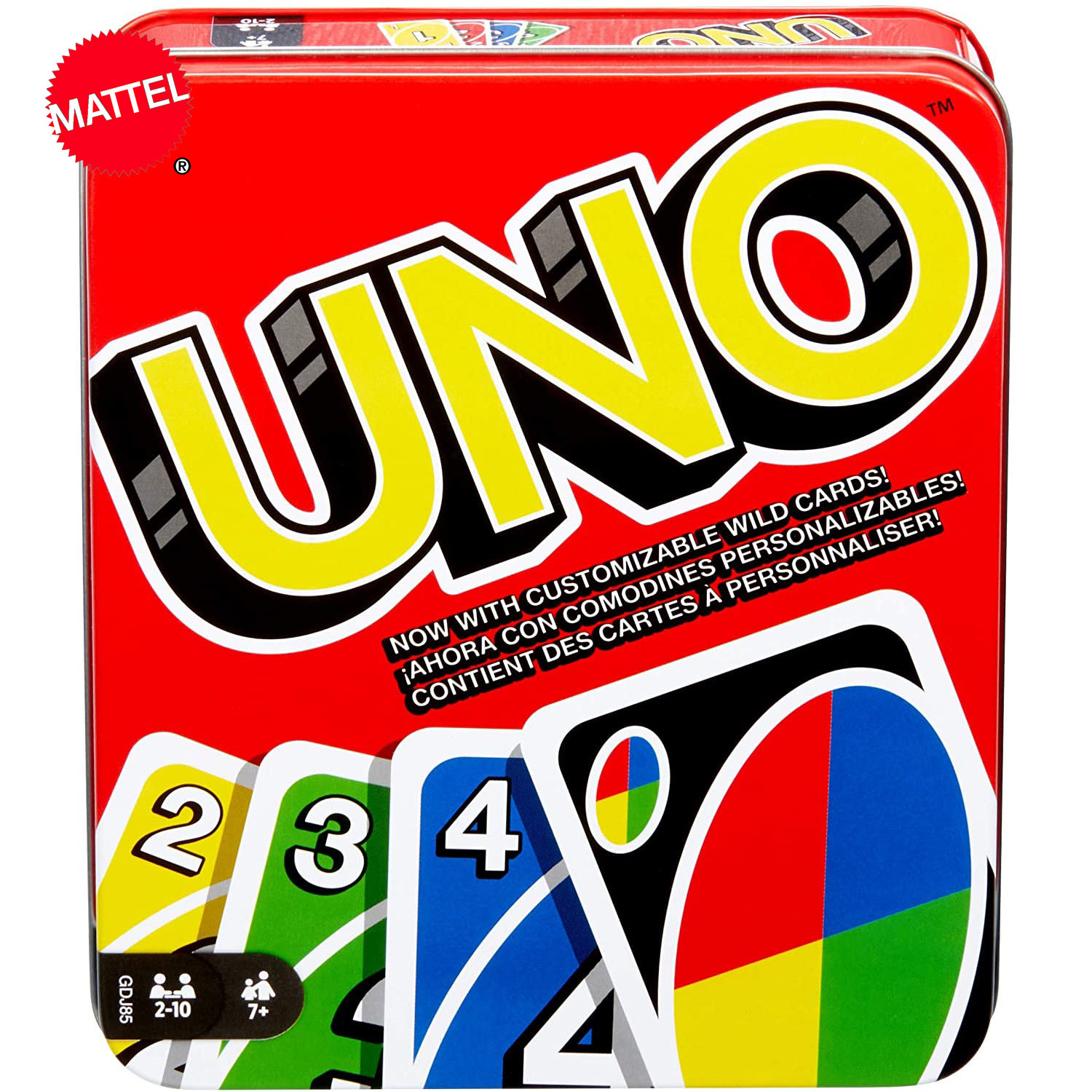 Topsale Puzzle Games Mattel Genuine UNO: Classic Family Funny Entertainment Board Game Fun Poker Playing Cards Gift Box