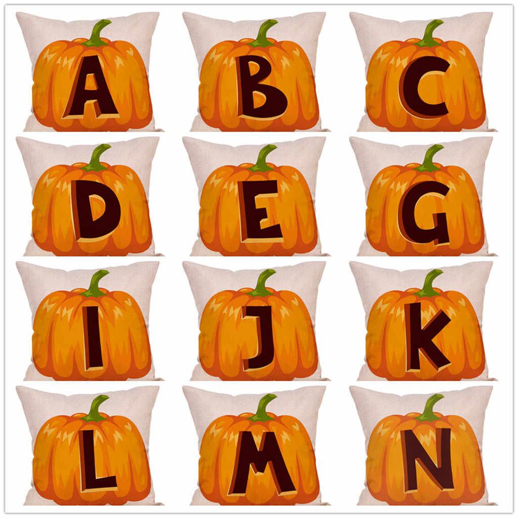 Осень подушек чехлы на Хэллоуин декоративная наволочка для подушки Чехлы тыквы