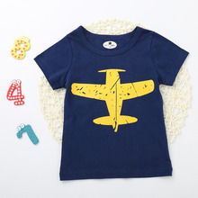 T-Shirts Children Clothing Baby Boy Summer T Shirt Kids Short Sleeve T-shirt Tops Toddler Boys Summer Clothes Top tee Summer стоимость