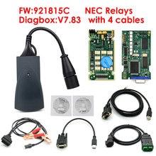 Profesional Lite Lexia3 PP2000 Diagbox V7.83 PSA XS evolución LEXIA 3 FW 921815C Lexia 3 Cables completos/Set