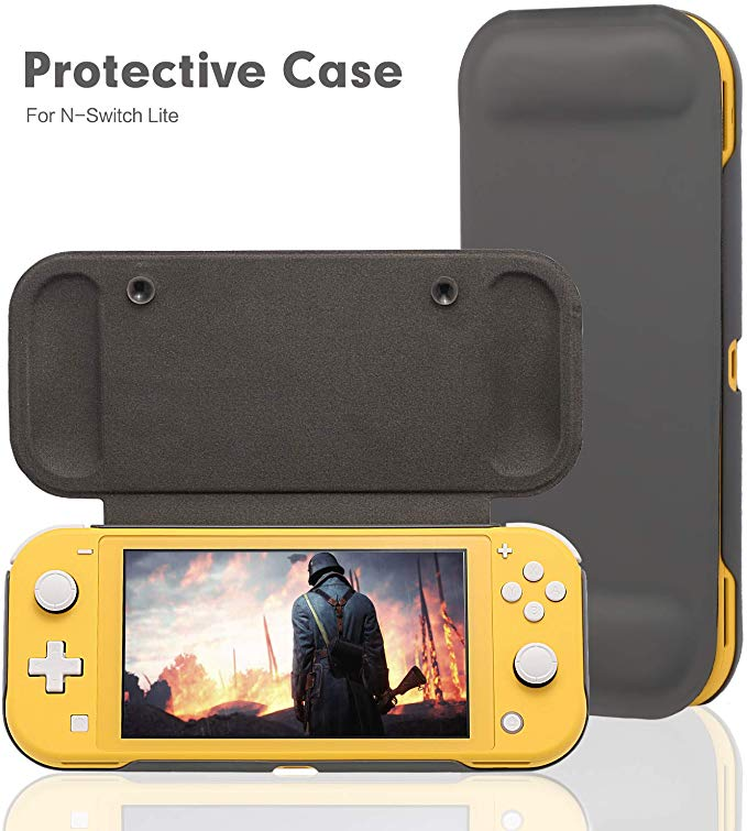 Switch Lite Protection Case Non-slip Scratch Game Grip Case Cover PC Leather Shell For Nintend Switch Lite Console Accessories