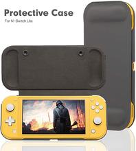 Switch Lite funda protectora antideslizante para Nintendo Switch Lite, funda de rejilla para juego de arañazos, carcasa de cuero para PC, accesorios para consola
