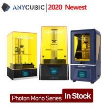 Impressora 3d mono do fóton de anycúbico/fóton mono x/fóton mono se impressão do tamanho grande 4k monocromático sla/lcd impresora 3d