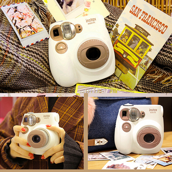 Fujifilm Instax Mini 7C Camera Home Travel Camera Replacement for Instax 7C with Strap Printing Photo Film Snapshot Shooting