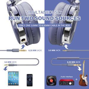 Image 2 - Oneodio Over Ear Wired Gaming Headset Met Microfoon Voor Telefoon Pc Bass Studio Dj Hoofdtelefoon Professionele Stereo Monitor Urbanfun