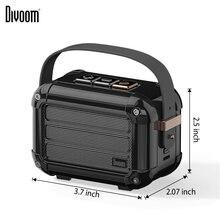 Divoom Macchiato bluetooth drahtlose tragbare lautsprecher mit FM radio TWS Funktion geschenk paket unterstützung IOS und Android-system