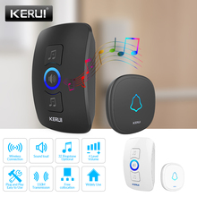 KERUI M525 Wireless Smart Home Doorbell With Waterproof Push Button Long Range 3