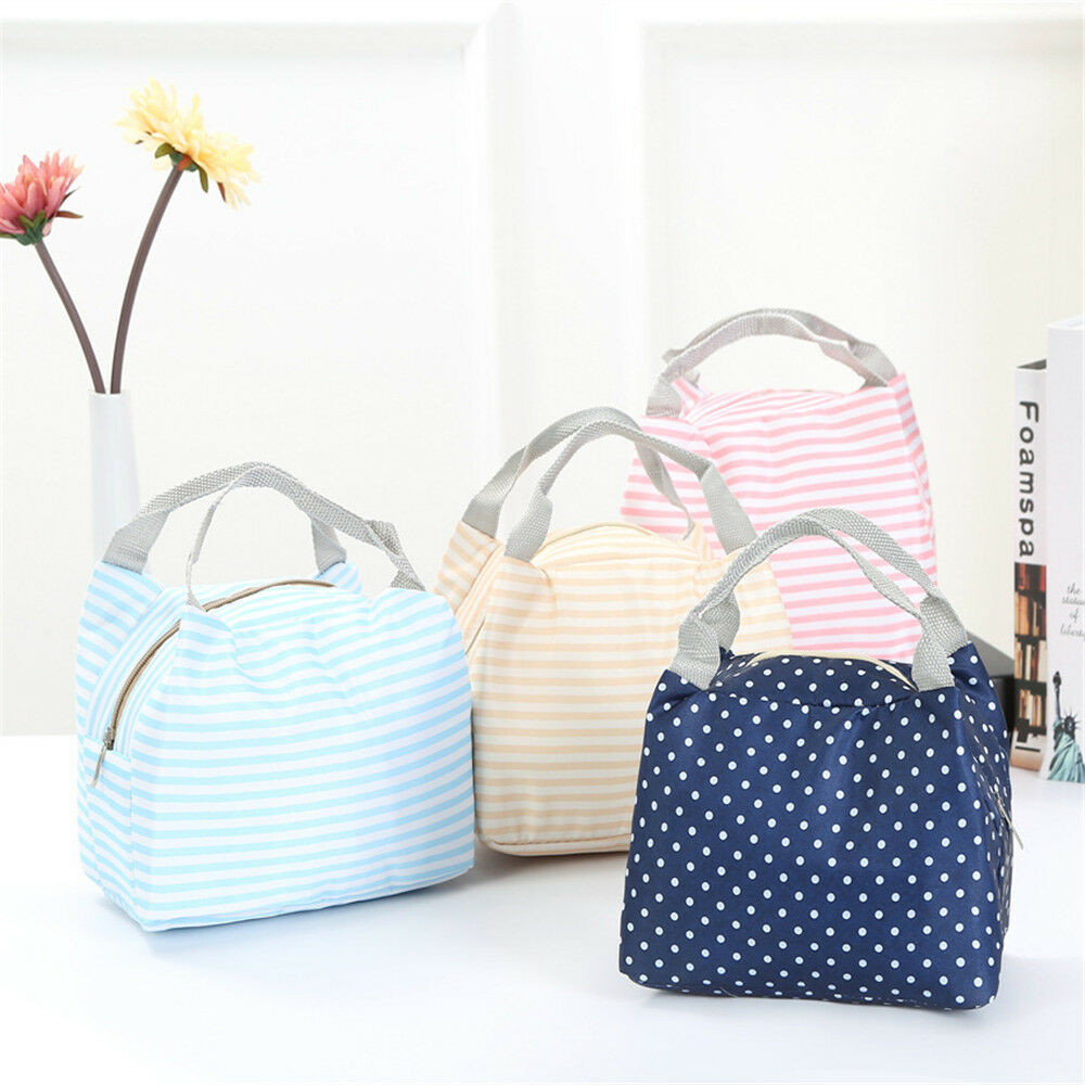 Portable Thermal Insulated Lunch Bag Container Lunch Box Portable Food Containe Storage Bag Picnic Bags