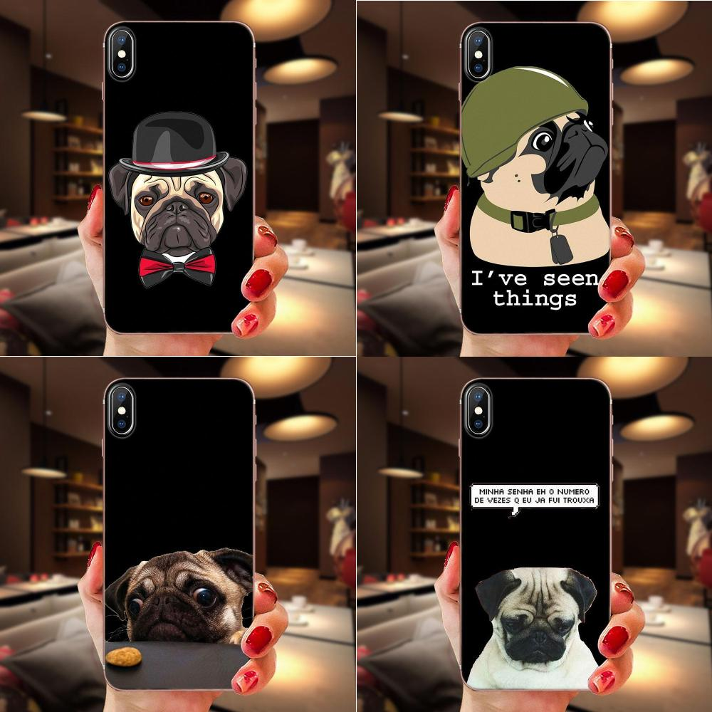 Cell <font><b>Phone</b></font> <font><b>Case</b></font> <font><b>Dog</b></font> Paw Husky Pug Cute For <font><b>Samsung</b></font> <font><b>Galaxy</b></font> A10 A20 A20E <font><b>A3</b></font> A40 A5 A50 A7 J1 J3 J4 J5 J6 J7 2016 <font><b>2017</b></font> 2018 image