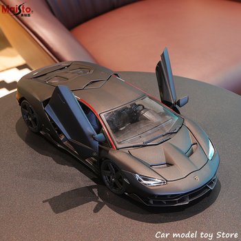 Maisto 1:18 Lamborghini LP770 Sports Car Alloy Retro Car Model Classic Car Model Car Decoration Collection gift new year gift lp770 upgrade package 1 18 metal model car collection toys luxury diecast decoration alloy metal static present