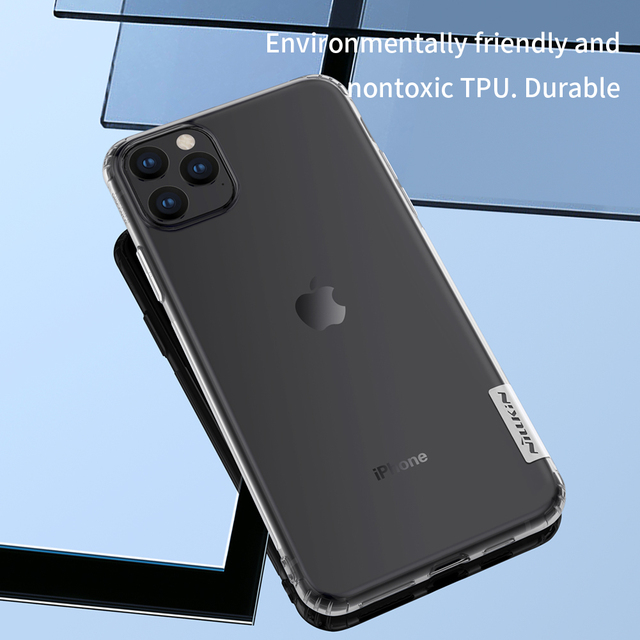 Transparent Clear Soft Back Cover for iPhone 11 XI