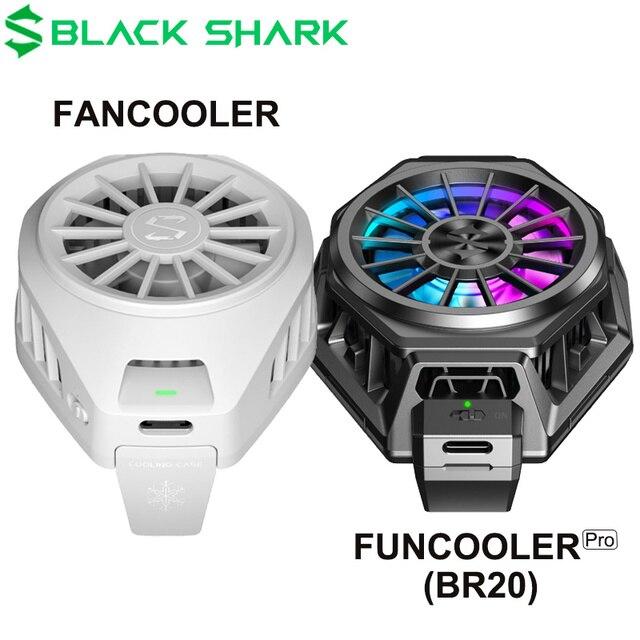 Original Black Shark FunCooler fan cooler Liquid Type C RGB For xiaomi iPhone For Android phone iOS 67 88mm phones Cooling Fan