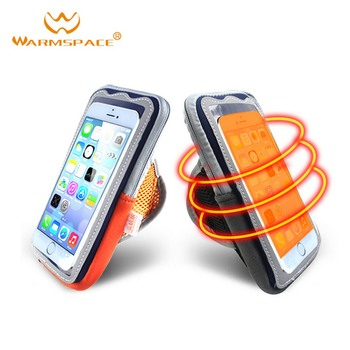 4-7 Inch Electric Mobile Phone Heating Warm Bag For Iphone Sports Running Arm Pouch Holder Phone Cas