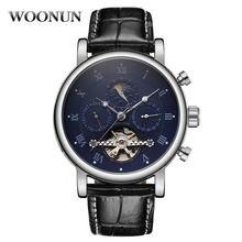 Роскошные мужские наручные часы tourbillon Мужские автоматические