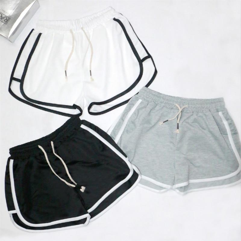 2020 cheap stuff New sports wind 3 minutes female shorts thin baggy women hot Loose Drawstring|Shorts| - AliExpress