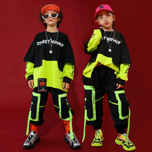 Fashion Jazz Dance Costumes Kids Hiphop Rave Outfit Street Dance