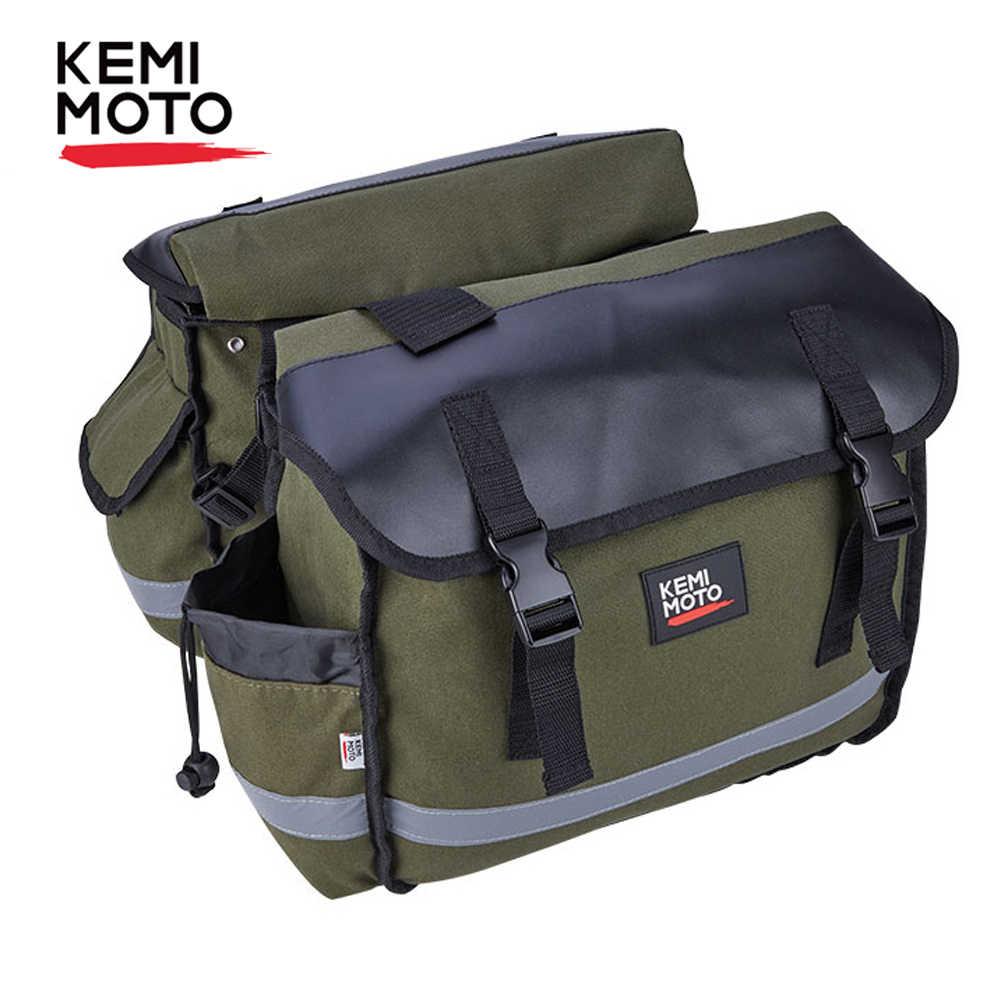 KEMiMOTO torby motocyklowe sakwa torby bagażowe podróż rycerz jeździec dla Touring dla Triumph Bonneville dla honda shadow