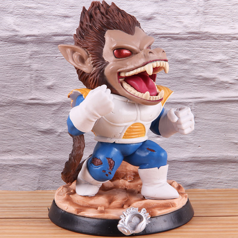 Image 3 - Vegeta Dragon Ball Z PVC Collectible Action Figure Dragonball Model Toy Great Ape Anime GK Statue 18cmAction & Toy Figures   -