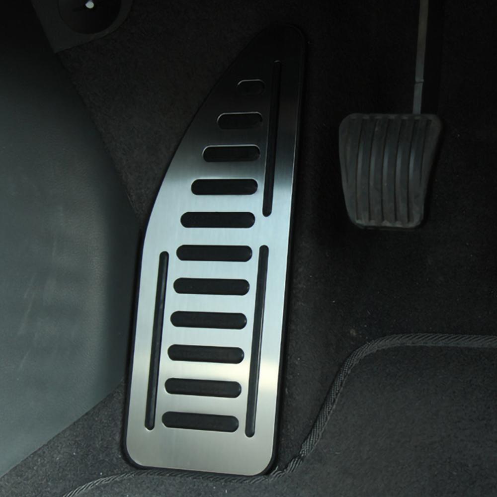 Pédale de voiture en acier inoxydable, couvre-pied, pour Ford Focus 2 MK2 Kuga Escape