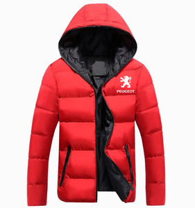 Image 4 - Winter Korean new Printed Down Jacket  Peugeot JACKET thickening coats clothes male casual jackets