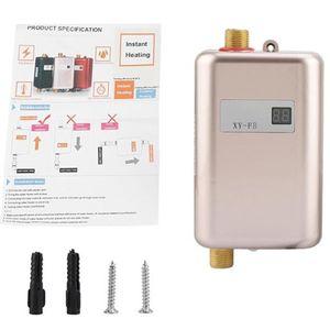 Image 2 - Mini Tankless MÀN HÌNH Kỹ Thuật Số LCD Máy Nước Nóng Tức Thì Nóng Vòi bếp Nóng Bình Giữ Nhiệt HOA KỲ Cắm Thông Minh Năng Lượng tiết kiệm Chống Thấm Nước