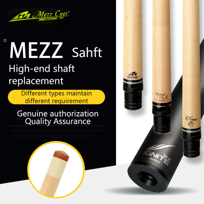 Original MEZZ Shaft Billiard Pool Cue Shaft Billar Carbon Cue Shaft Professional Maple MEZZ Cue Tecnologia Billard Shaft