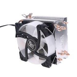 Радиатор Процессор Колер 4 теплотрубки охлаждающий вентилятор 90 мм радиатор для гнездо-AMD AM4 AM3 и Intel LGA-775 1150 1151 Процессор вентиляторы