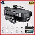Wifi RC Drone 4K 1080P HD Dual Kamera Eders Optischen Fluss Luft Faltbare Quadcopter FPV Drohnen Lange Batterie leben Spielzeug Für Kinder