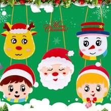 Новый рождественский рукоделие фетровая ткань Набор для рукоделия