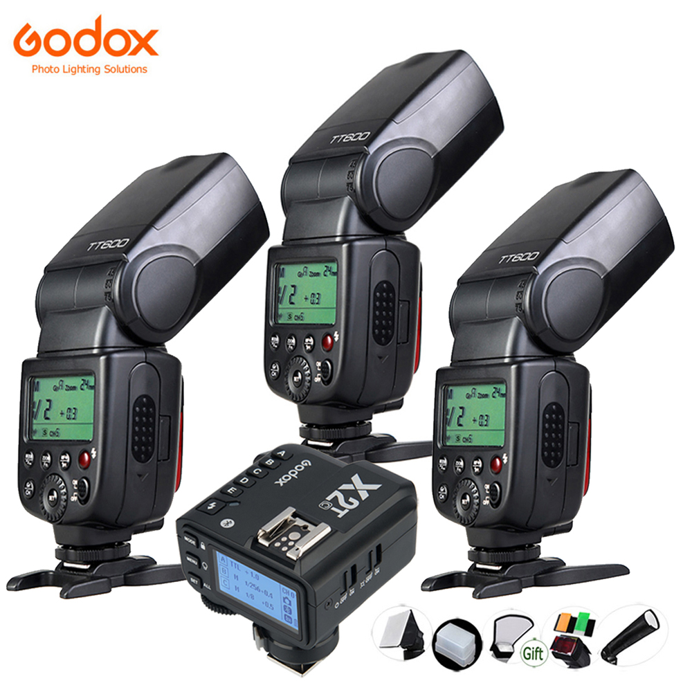 GODOX TT600 GN60 Flash Light Master Slave Speedlite 2.4G Wireless System for DSLR Camera Canon Nikon Pentax Olympus Fuji Sony