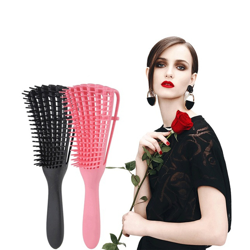 Hair Comb Long Short Hair Fashion Anti-Static Straight Hair Curly Comb Massage Comb Beauty Design Tools Salon Styling Hair Brush