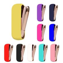 Miękki silikonowy pokrowiec Case dla IQOS 3 pokrowiec ochronny dla IQOS 3 0 akcesoria do papierosów pełna obudowa ochronna pokrowiec na IQOS 3 0 tanie tanio TECTINTER CN (pochodzenie) Miękka torba For Iqos 3 For Iqos 3 0 Cigarette Accessories Soft Silicone Cover Case For IQOS 3
