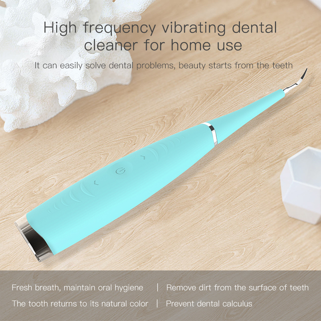 Electric Portable Sonic Dental Scaler Tooth Calculus Remover Tooth Stains Tartar Tool Dentist Teeth Whitening Oral Hygiene