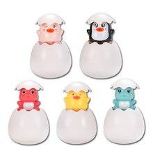 Детские Игрушки для ванны Милая утка яйцо вода брызги посыпать