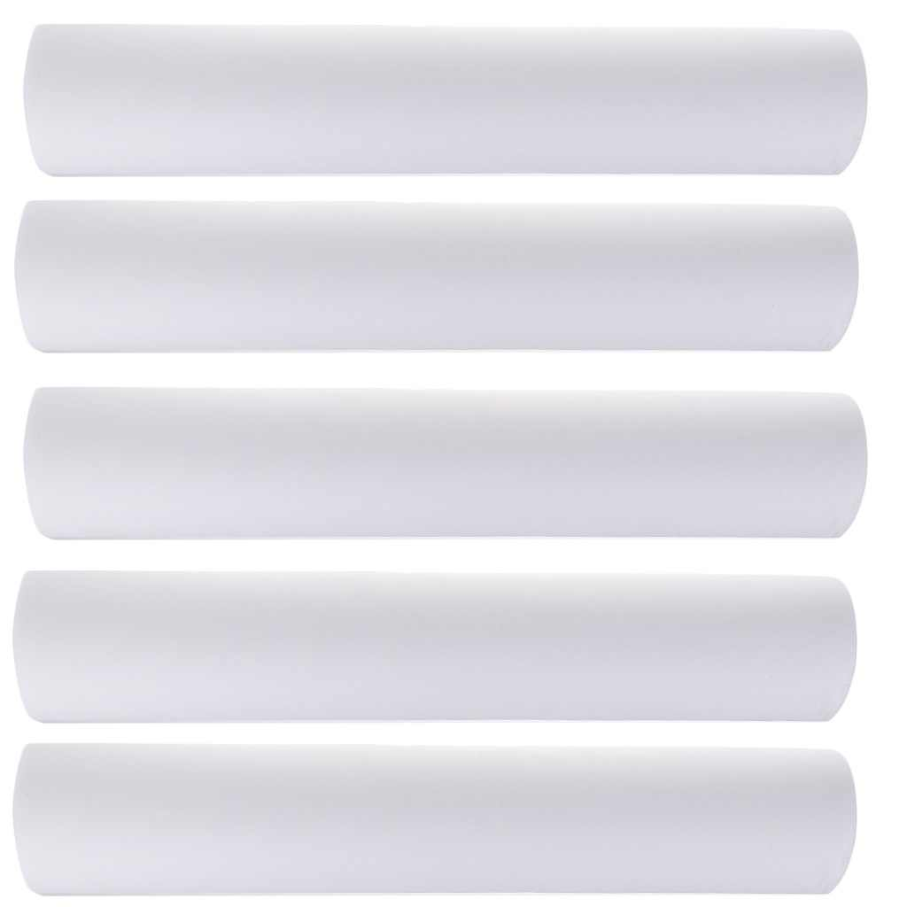 5x50 adet olmayan dokuma kafalık kağıt rulosu Spa Salon yatak örtüsü dövme kaynağı tek yatak çarşafı masaj yatak levha 50x70cm