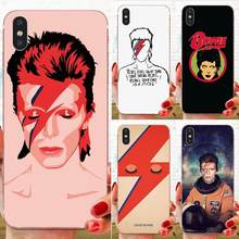 TPU แฟชั่น David Bowie สำหรับ Galaxy Grand A3 A5 A7 A8 A9 A9S On5 On7 Plus Pro Star 2015 2016 2017 2018(China)