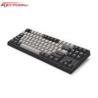 keycool KC87 mechanical keyboard 87/104 cherry switch gaming keyboard PBT keycaps desktop office keyboard