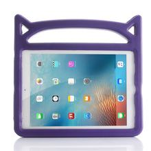 Lightweight Devil Style Kids Non-toxic EVA Handle Stand Cover Case Suitable for iPad 5/6/air/air 2/pro 9.7/new 9.7(China)