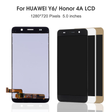 5.0'' For Huawei Honor 4A LCD Screen SCL-L01 SCL-L21 SCL-L04 Honor Y6 LCD Display Touch Screen Digitizer Sensor Assembly Frame поломоечная машина lavor pro scl comfort m 102