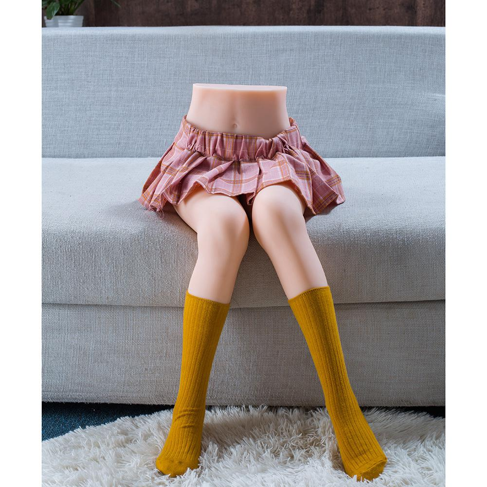 Sexdoll TPE <font><b>85cm</b></font> Leg Model Half Body <font><b>Sex</b></font> <font><b>Dolls</b></font> For Men Masturbate Pussy Realistic Silicone Love <font><b>Doll</b></font> No Inflatable Sexy Girl image