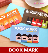 Girl / Mustache / Ninja Bunny Magnetic Bookmark , cute cartoon magnet book page mark twenties girl page 5