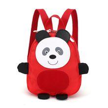 Детский рюкзак для мальчиков и девочек дошкольного возраста с принтом животных из мультфильмов, детские школьные дорожные сумки для ланча